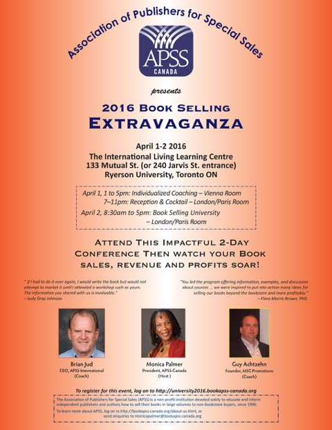 APSS Canada Book Selling Extravaganza – Promontory Press